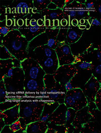 Nature Biotechnology, July 2013