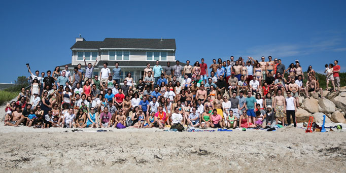 Langer Lab Beach Party 2012
